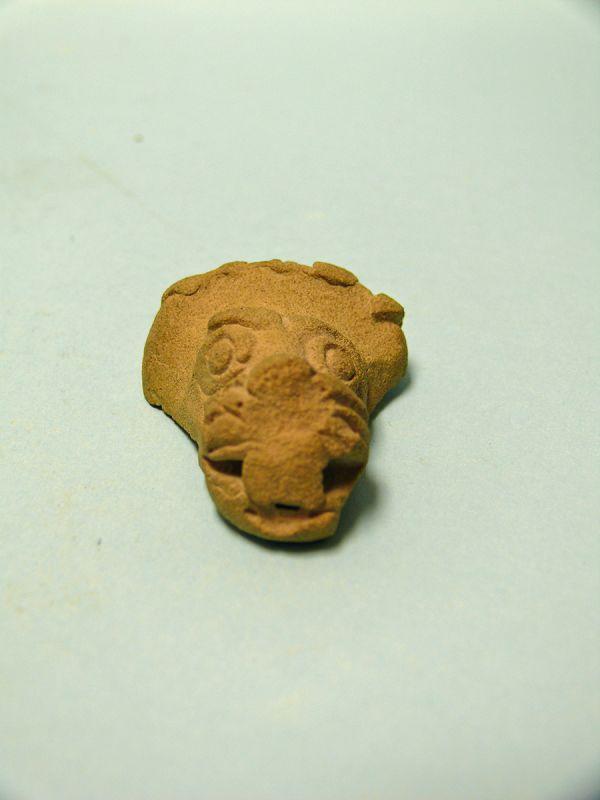 Syro-Hittite Pottery Head of a Lion