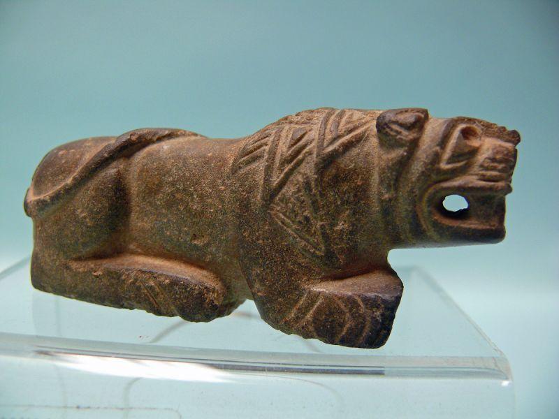 Assyrian Stone Crouching Lion
