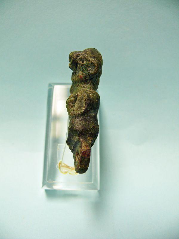 Miniature Roman Bronze Reclining Lion