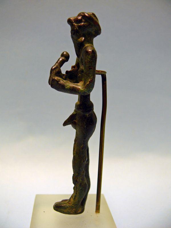 Canaanite Bronze Figure of a Warrior God