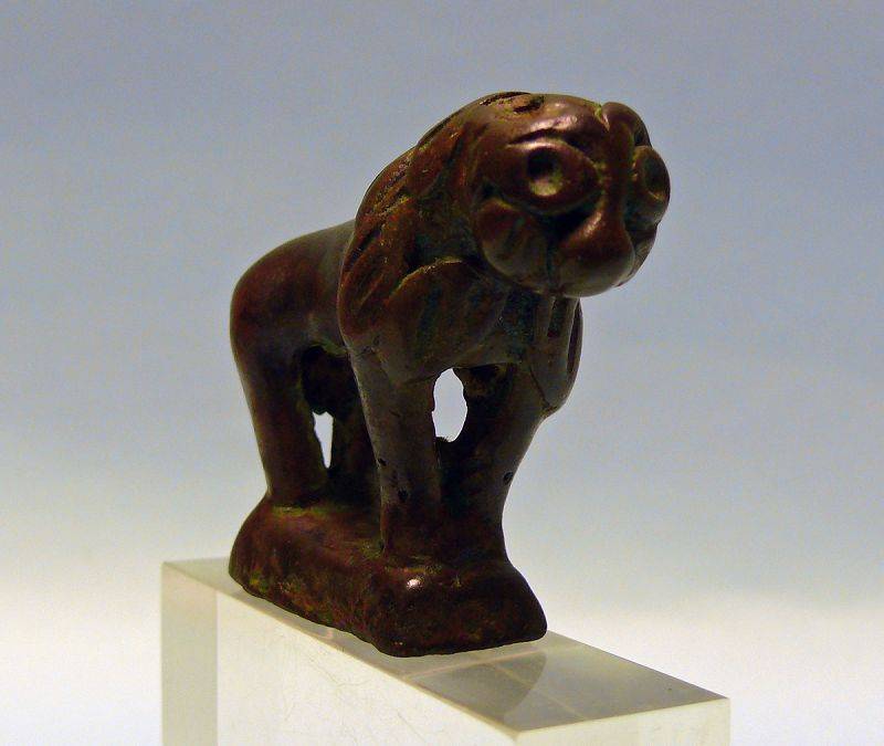 Near Eastern Islamic Seljuk Bronze Lion