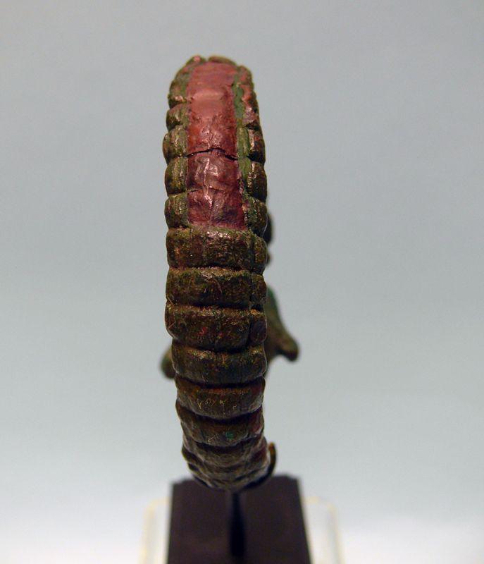Islamic Bronze Bracelet of Two Lion Heads