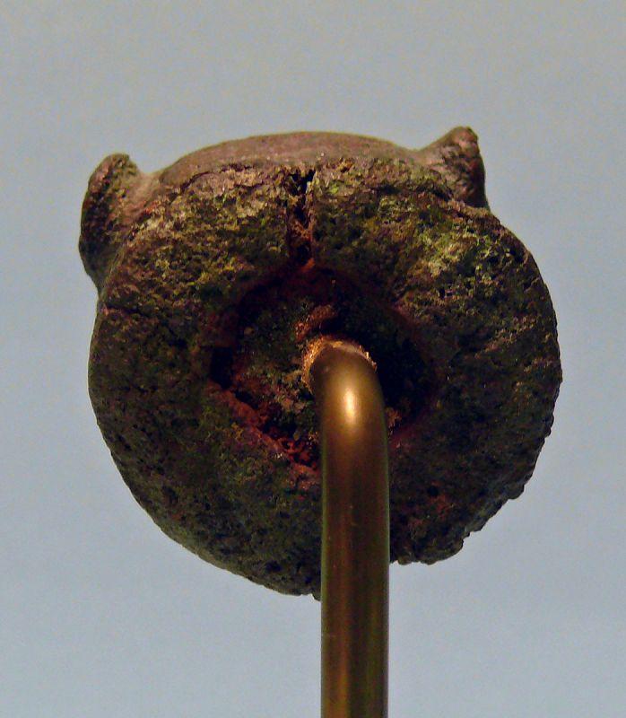 Roman Bronze Head of a Young Lion, Attachment, Protome