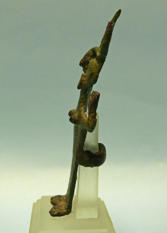 Iranian Bronze Figure with Horns