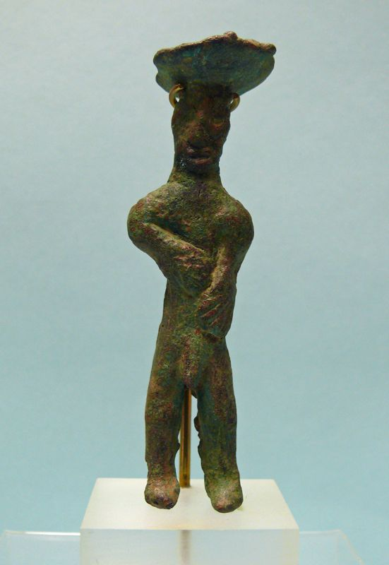 Canaanite Bronze Figure of a Diety