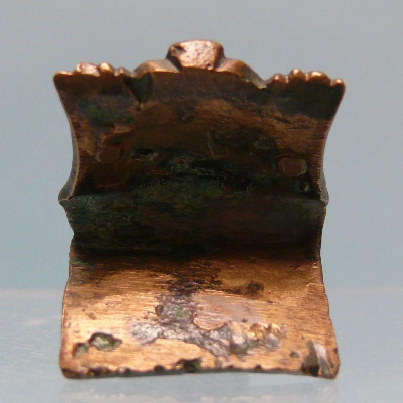 Islamic Bronze Furniture Attachment, Forepart of a Lion