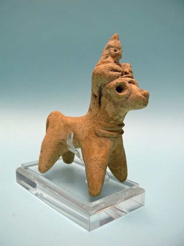 Syro Hittite Terracotta Idol on Horse