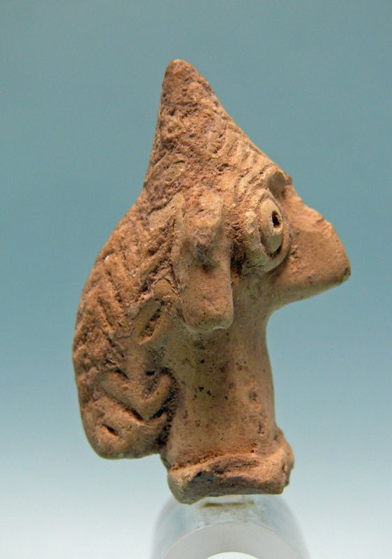Syro Hittite Terracotta Head of Astarte / Goddess