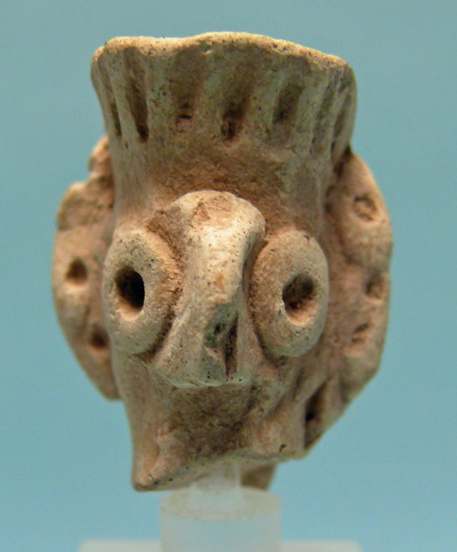 Syro Hittite Terracotta Head of Astarte / Goddess