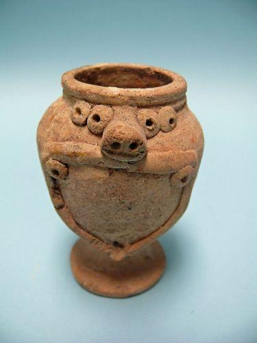 Syro Hittite Terracotta Astarte / Goddess Bowl