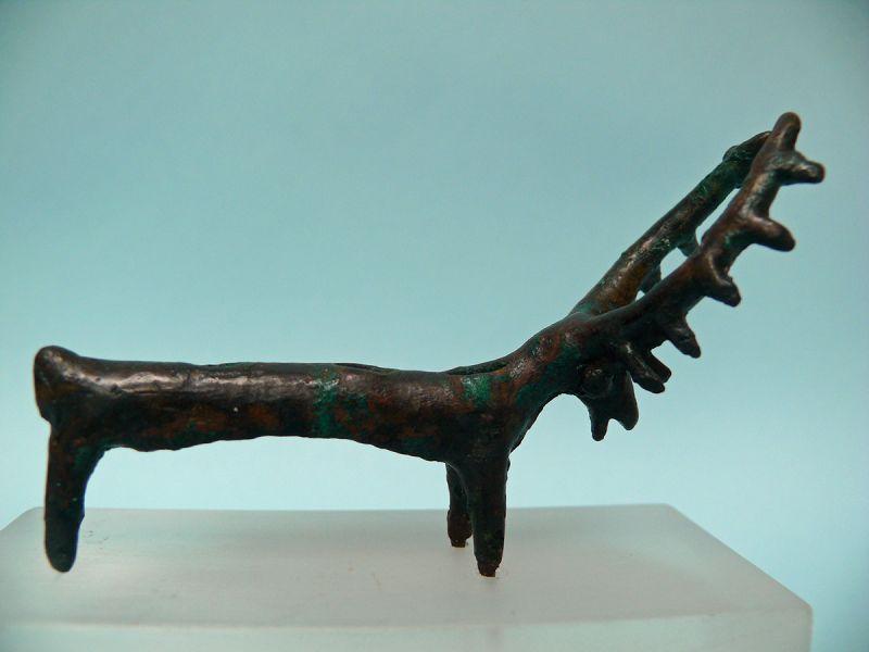 Iron Age Bronze Antelope