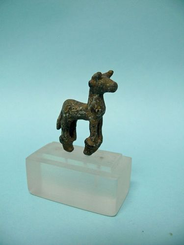 Iron Age Bronze Miniature Bull