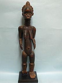 Mende / Sierra Leone Sande Society Wooden Female