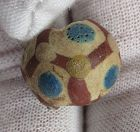"""Glazed Pottery"" Eye Bead, 300 - 200 B.C.E."