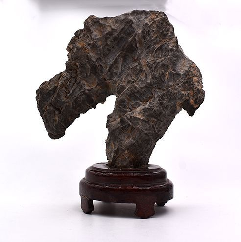 Scholar Stone with Stand