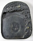 A Very Fine/Rare/Large Carved Black Inkstone