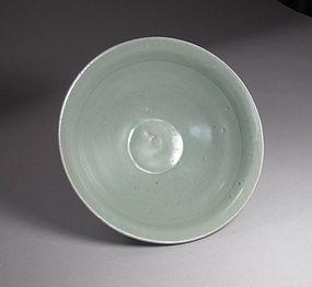A Very Fine Reach Green Koryo Celadon  Bowl