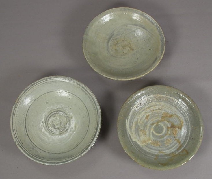 Fine Group of 8 Early Punchong Ware Small Dishes
