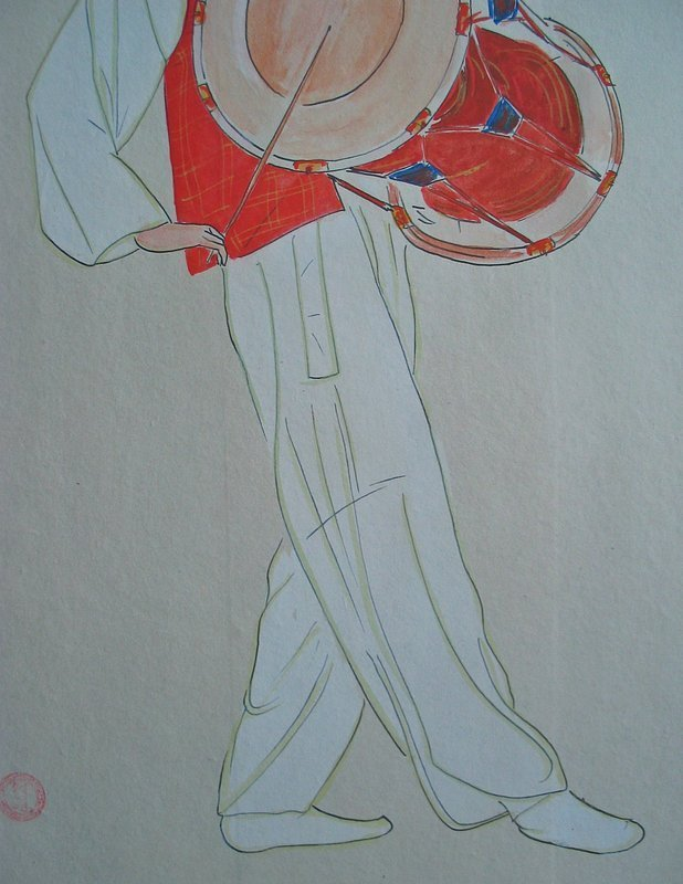 A  Rare and Fine Painting by Won Suk Yeon(1922-2003)