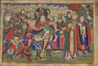 A Large Korean ��� (���) (Host of Spirits)� Buddhist Painting