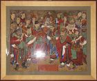 Large/Rare/Fine ���-���) God of Spirit Buddhist Painting