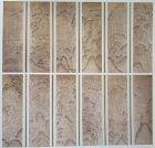 Very Rare Korean Magnificent 12 Panel Mt. Diamond-��山�] Screen