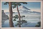 A Very Fine Woodblock Print by Tsuchiya Koitsu