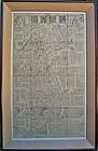 """Large/Old  Map of Korean Peninsula �Hae Joa Jun Do"""""""