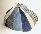 Japanese Vintage Textile X-large Size Komebukuro