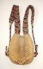 Japanese Vintage Folk Craft Kumonosu Bandori
