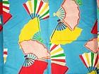 Japanes Vintage Textile Silk Girl's Kimono Showa