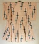 Japanese Vintage Textile Meisen Kimono Ogasuri