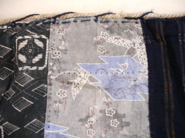 Japanese Vintage Textile L Size Kome-bukuro