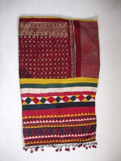 Indian Vintage Textile Quilting and Patchwork  Bag