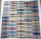 Japanese Vintage Textile Sakiori Kotatsu Cover