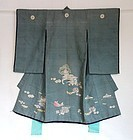 Japanese Antique Textile Boy's Ceremonial Kimono