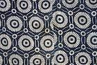 Japanese Antique Textile Katazome Futonji Mum