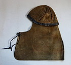 Japanese Antique Fusube-gawa Fireman's Hood