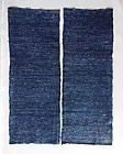 Japanese Vintage Textile Cloth With Feather