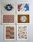 Japanese Vintage Mingei Prints Serizawa Keisuke Design