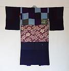 Japanese Vintage Textile Hagi-isho Juban Under Kimono