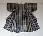 Japanese Vintage Textile Cotton Baby's Kimono Homemade