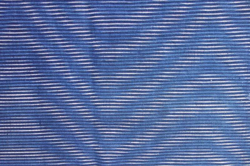 Japanese Antique Textile Cotton Kumano-zome Cloth-2