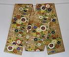Japanese Vintage Textile Silk Kara-ori Maru-obi