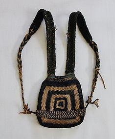 Japanese Vintage Folk Craft Bandori Pad for Back-Pack