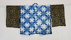 Japanese Vintage Textile Cotton Sekka Shibori Han-juban