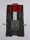 Japanese Antique Textile Silk Yosegire Sodenashi Vest