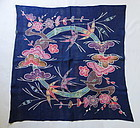Japanese Vintage Textile Okinawan Bingata Uchikui Wrapping Cloth