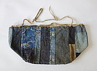 Japanese Antique Textile Cotton Kome-bukuro Rice bag