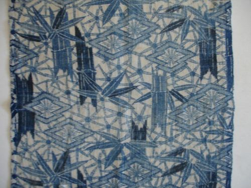 Japanese Antique Textile Narumi-Kongata Cloth